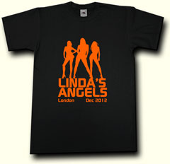 angels hen party t shirt