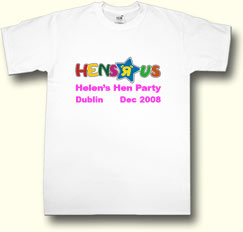 hens r us hen party t shirt